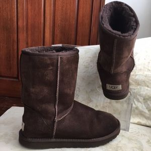 UGG Australia leather suede boots